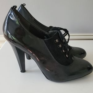 Mossimo Patent Leather Lace-up Heels